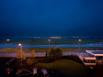Ramada Airport Hotel Prague**** - view from the room, airfield