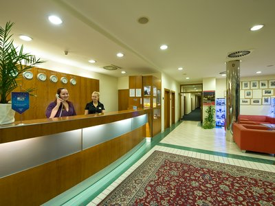 Ramada Airport Hotel Prague**** - reception